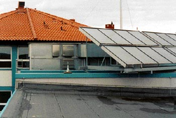 Fig.2: Solar assisted air conditioning system in Riesa/Germa